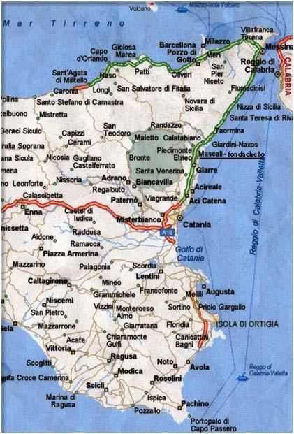 Cartina Stradale Sicilia Orientale.Antlo Sicilia Orientale A Catania Il Programma 2016 Attualita Antlo